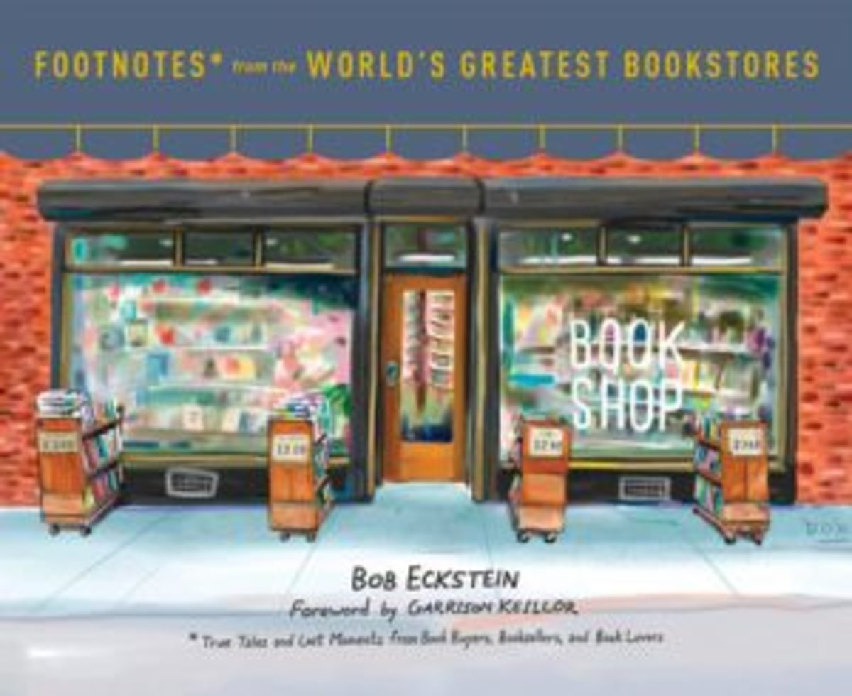 Book of bookstores illustrations