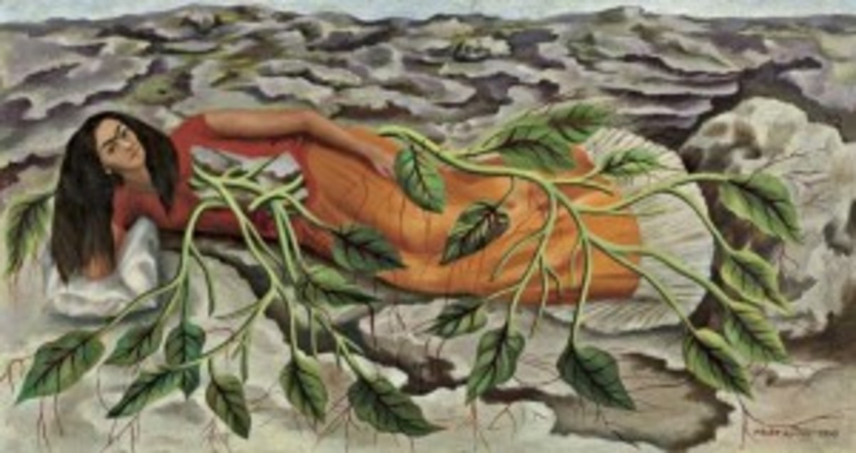 """""""Roots,"""" by Frida Kahlo"""