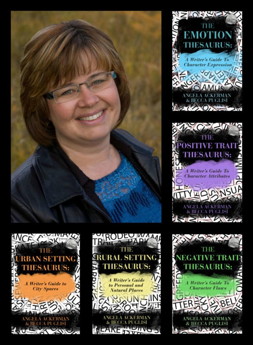 Angela Ackerman author writer
