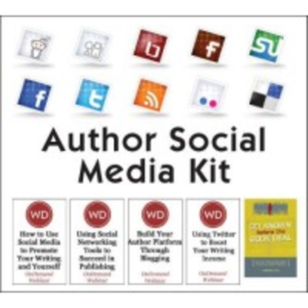 Author Social Media kit
