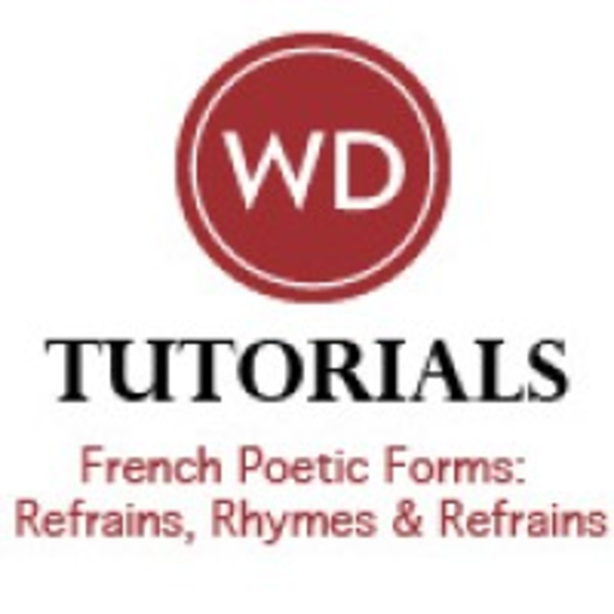 French Poetic Forms