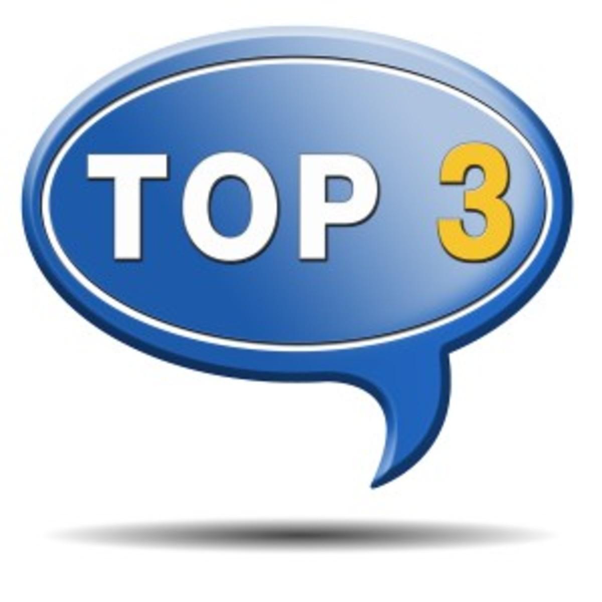 top 3 charts list pop poll result and award winners chart rankin