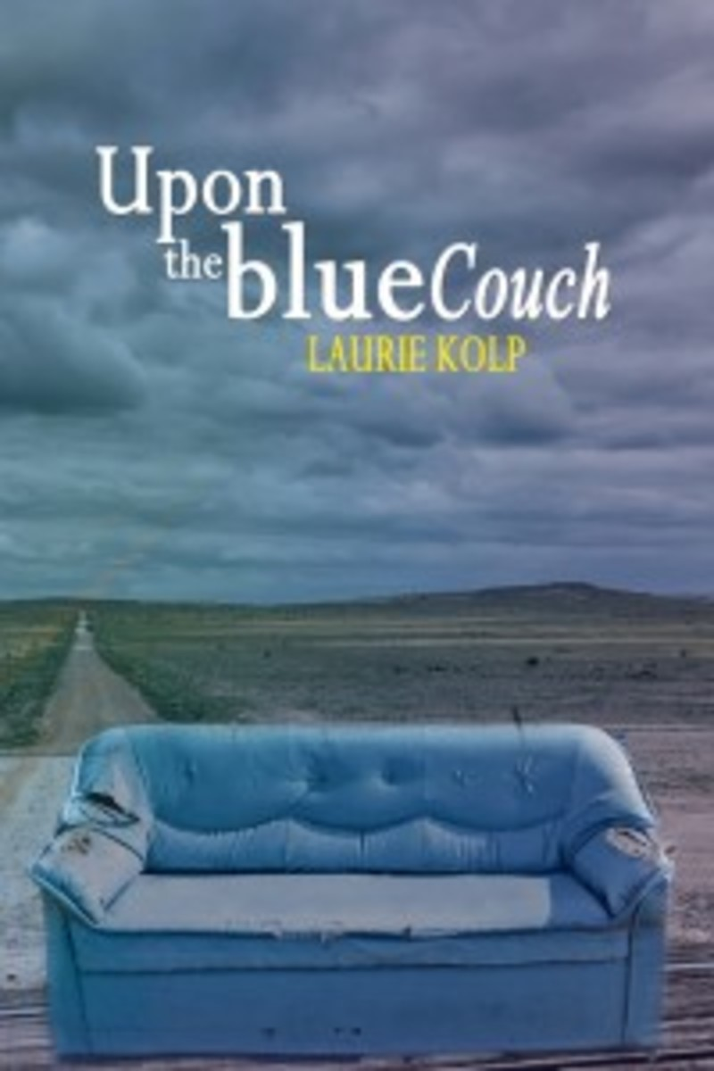 Upon the Blue Couch, by Laurie Kolp.
