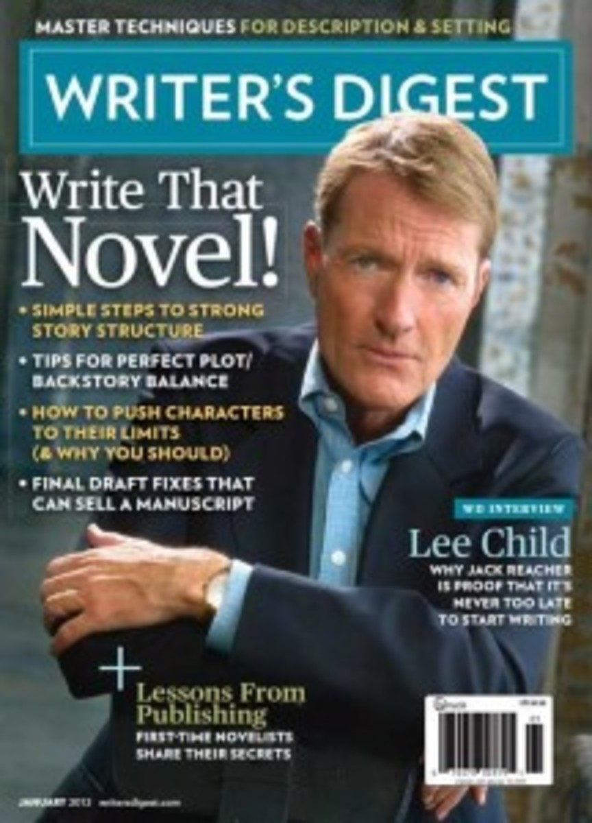 January 2013 issue of Writer's Digest magazine
