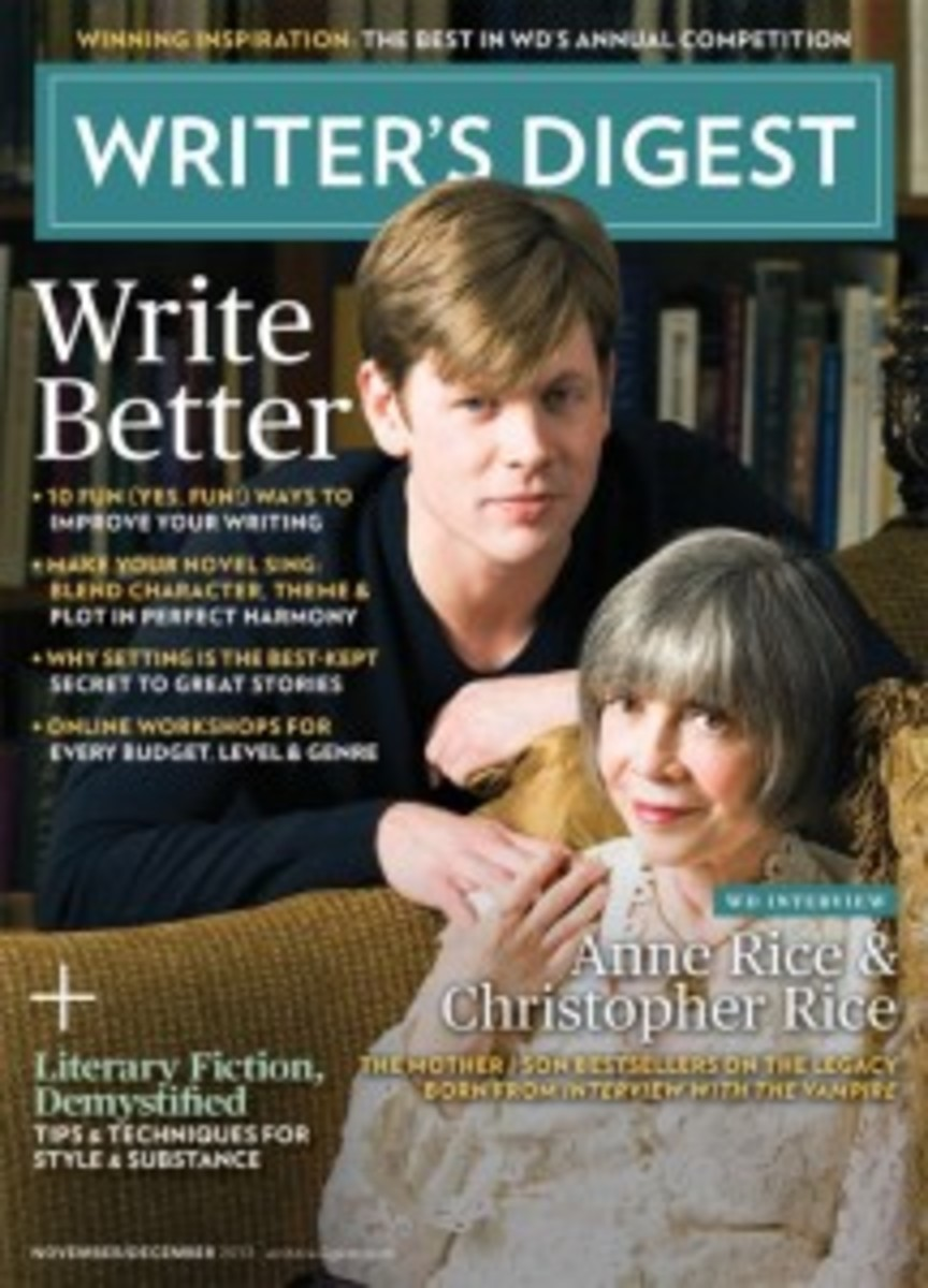 November/December 2013 Issue of Writer's Digest