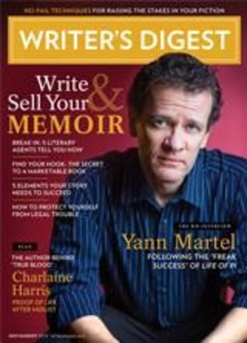 Yann Martel Writer's Digest