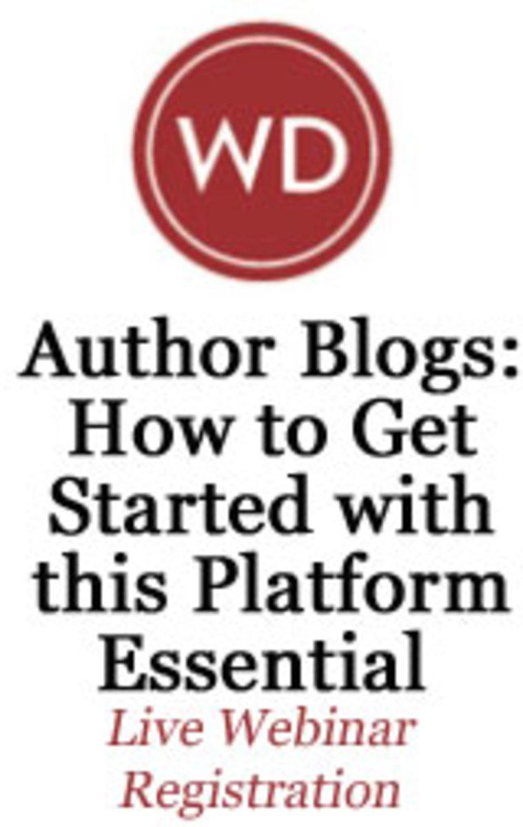 Author Blogs Live Webinar