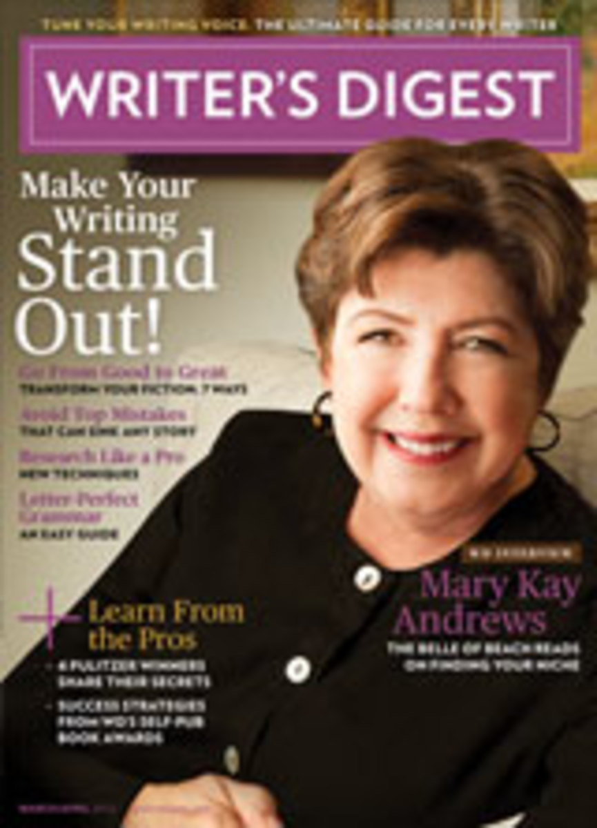 Writer's Digest Magazine | Mary Kay Andrews