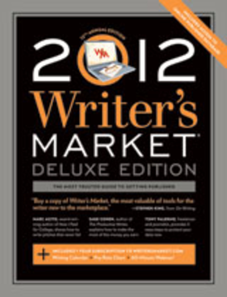 2012 Writer's Market Deluxe Edition cover