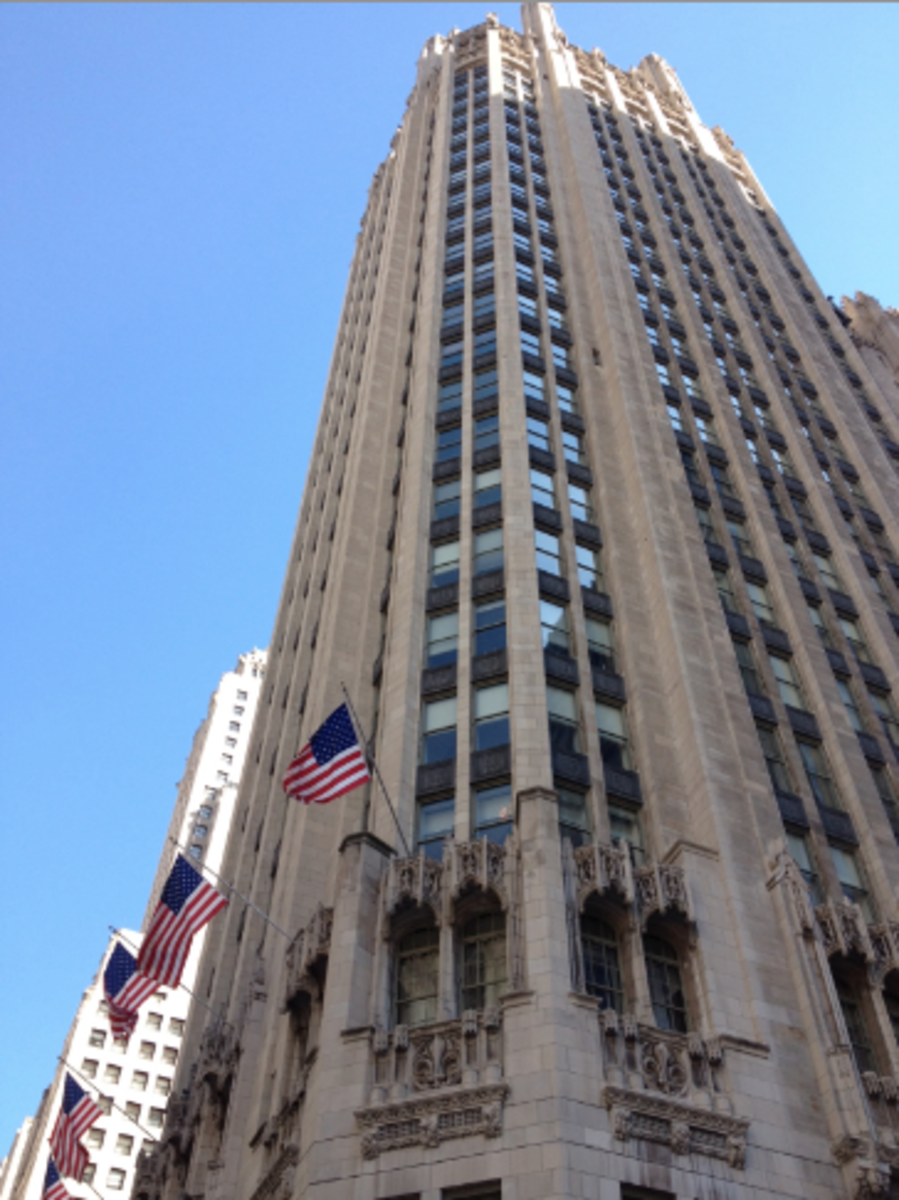 The 2012 event was held at the Tribune Tower in downtown Chicago. What an amazing building!