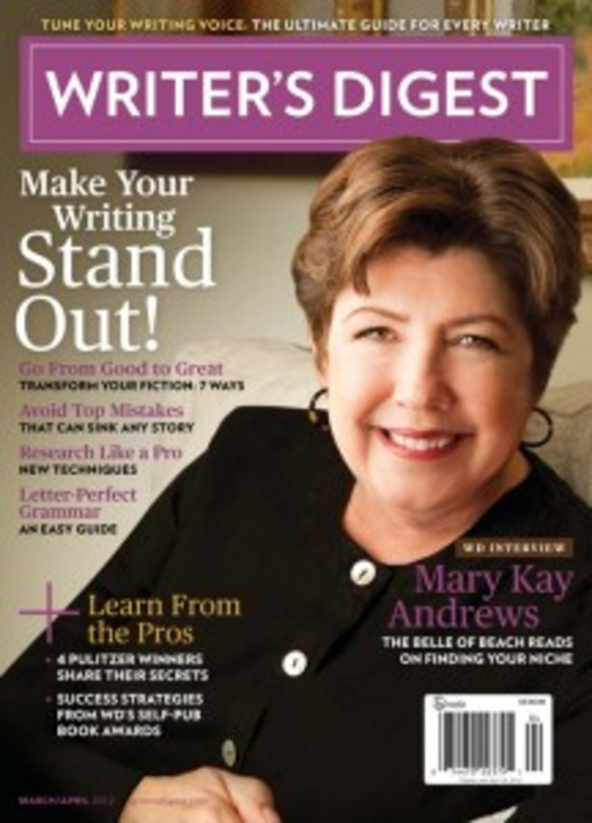 March/April 2012 Writer's Digest | How to Become a Better Writer