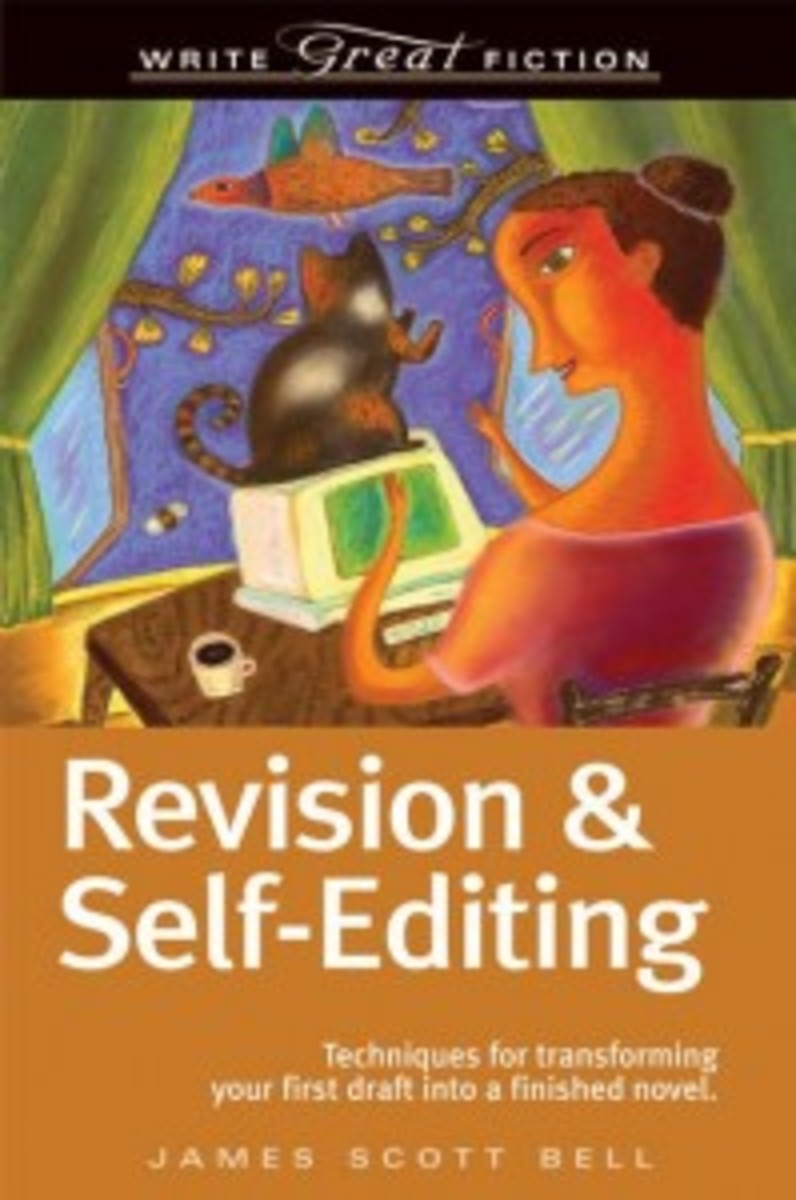 Writing a Book: Types of Characters | Revision & Self-Editing James Scott Bell