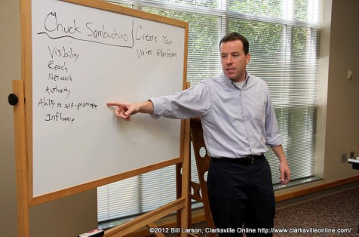 """The """"whiteboard point"""" is a trusted move for instructors everywhere."""