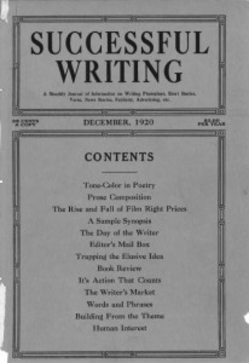 Successful Writing - The very first issue of what would become Writer's Digest