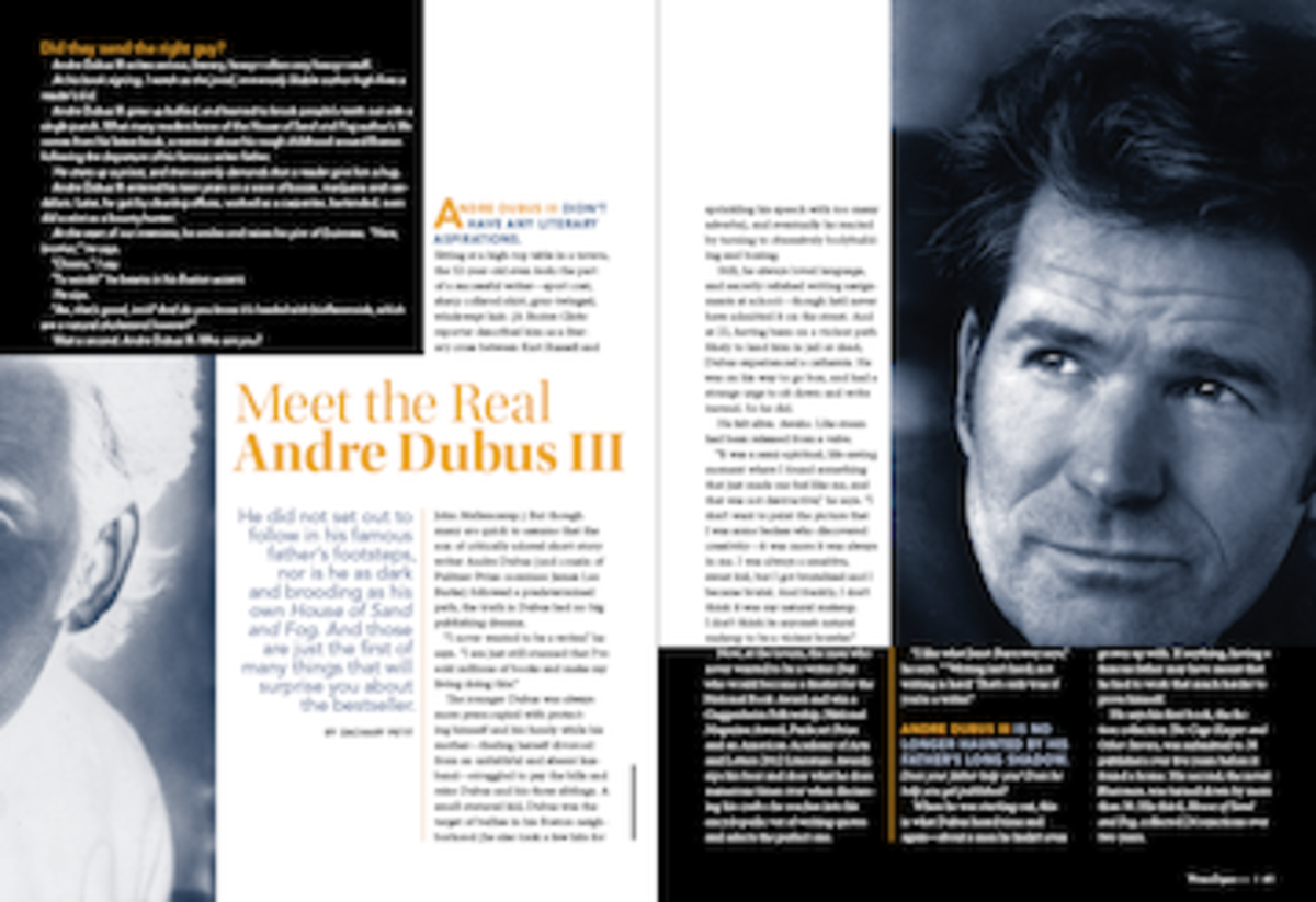 Writing Inspiration From Andre Dubus III: How to Stay True to Yourself