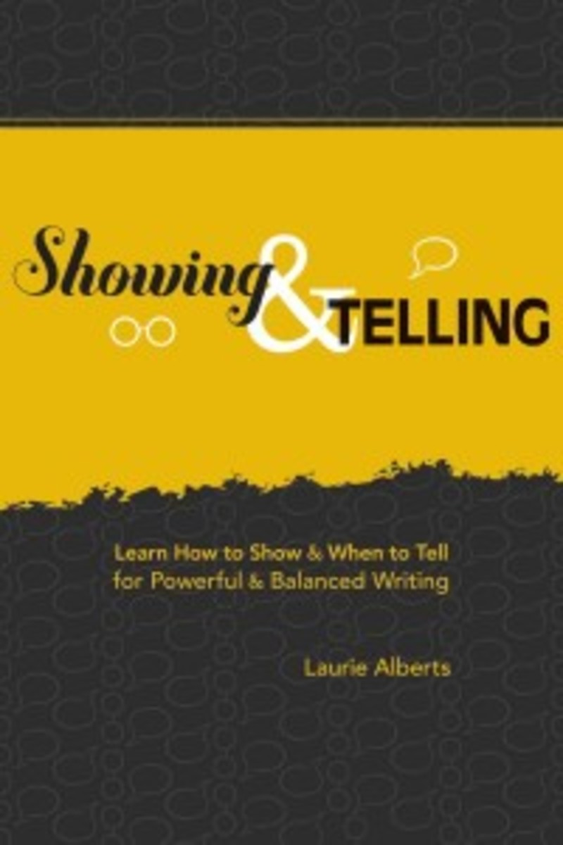 how to show and tell in writing | turning points