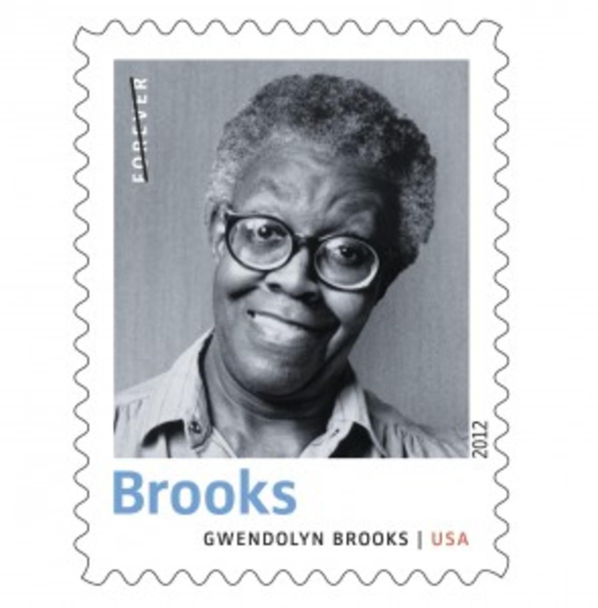 Gwendolyn Brooks stamp