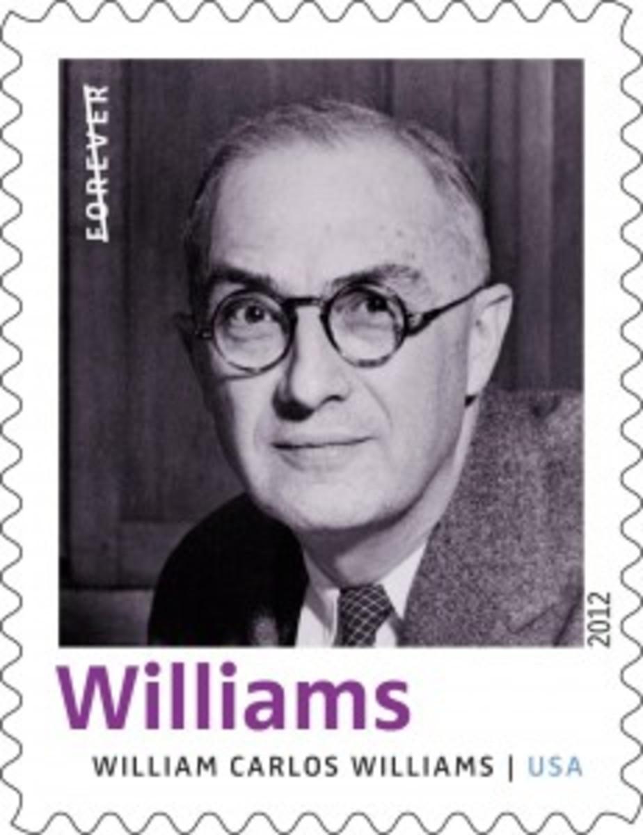 William Carlos Williams stamp