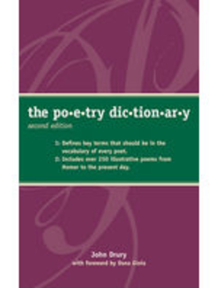 The Poetry Dictionary cover