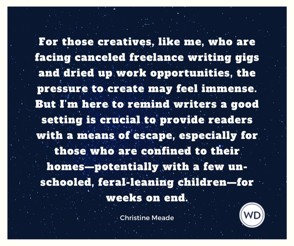 Writing Strong Settings | Christine Meade