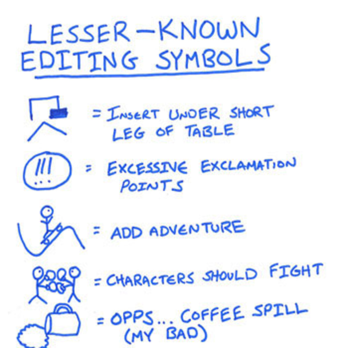 11 Editing Marks Every Writer Needs to Know