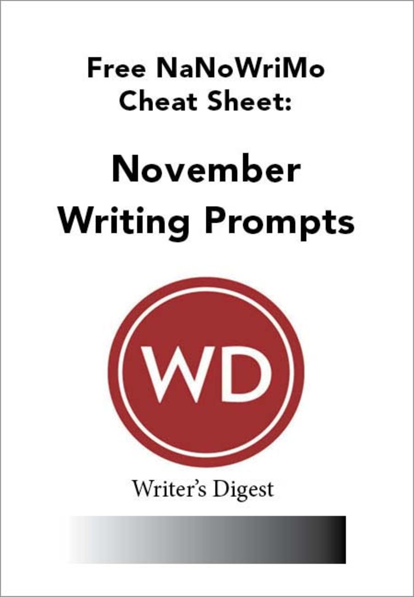Get your free November writing prompts to fight off any NaNoWriMo writer's block.