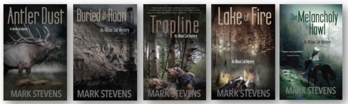 The Allison Coil Mystery Series, by Mark Stevens