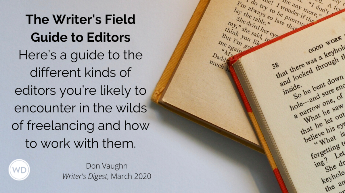 Writers Field Guide to Editors