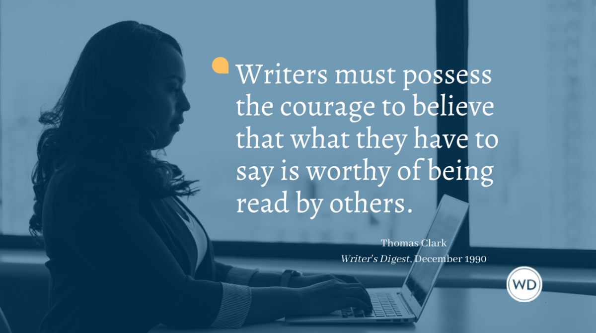 Writers must have courage