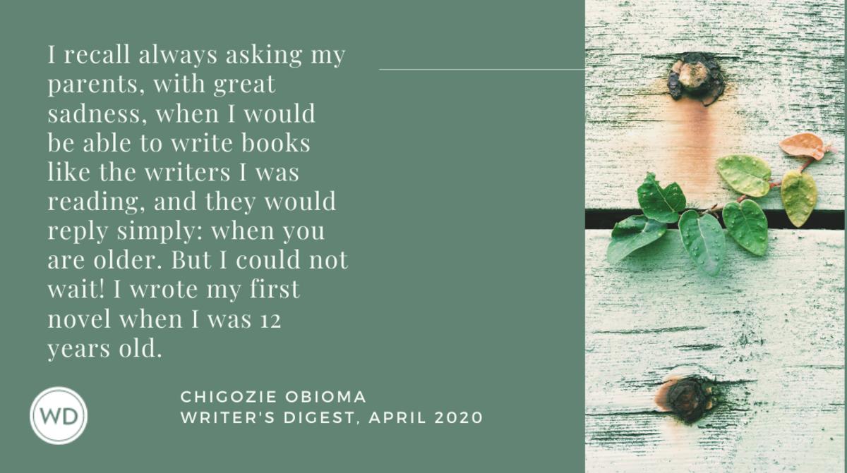 Chigozie Obioma quote 1
