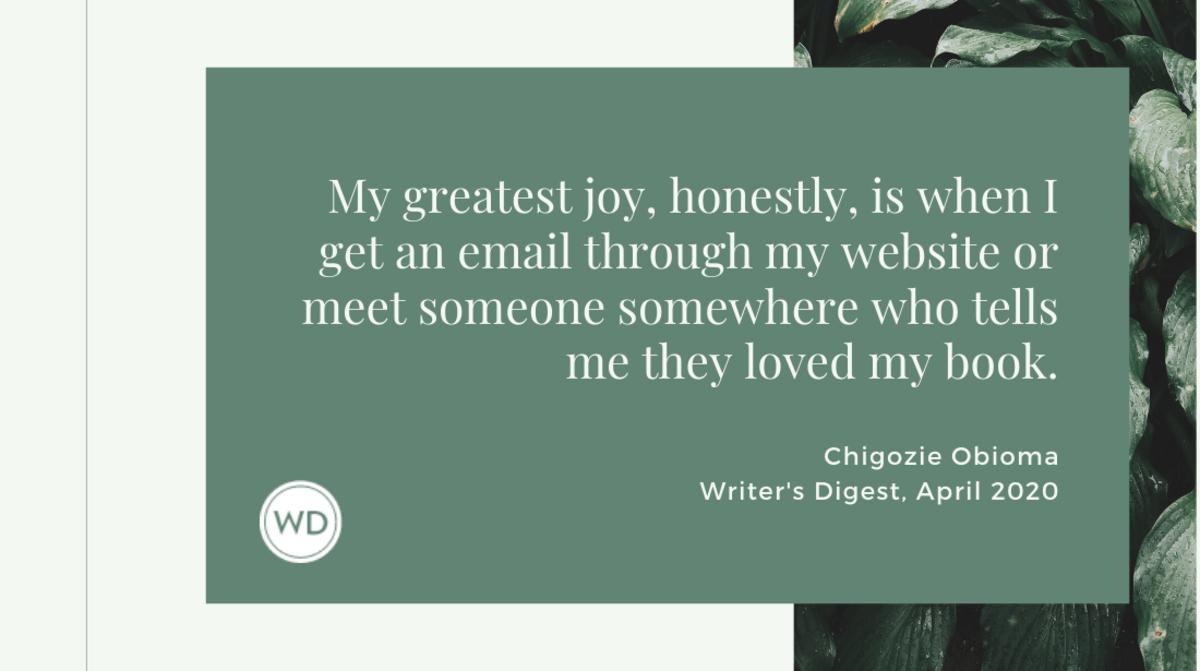 Chigozie Obioma quote 2