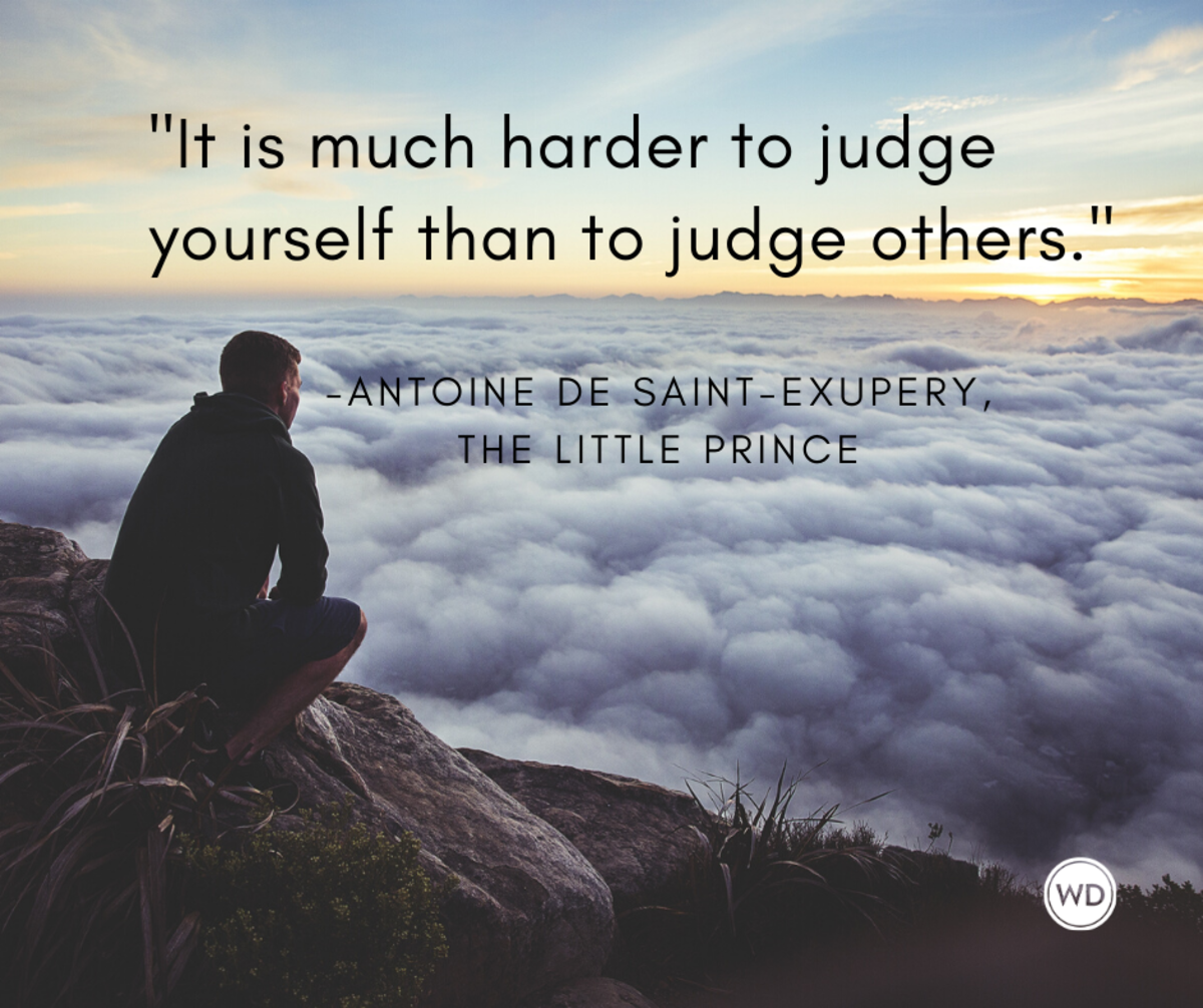 antoine_de_saint_exupery_quotes_it_is_much_harder_to_judge_yourself_than_to_judge_others_the_little_prince