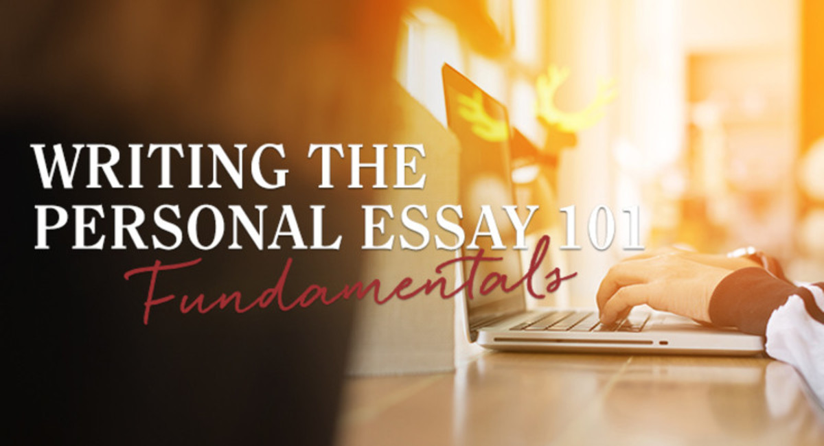 This course guides beginning and intermediate writers through elements of how to write a personal essay, helping them identify values expressed in their stories and bring readers into the experiences described.