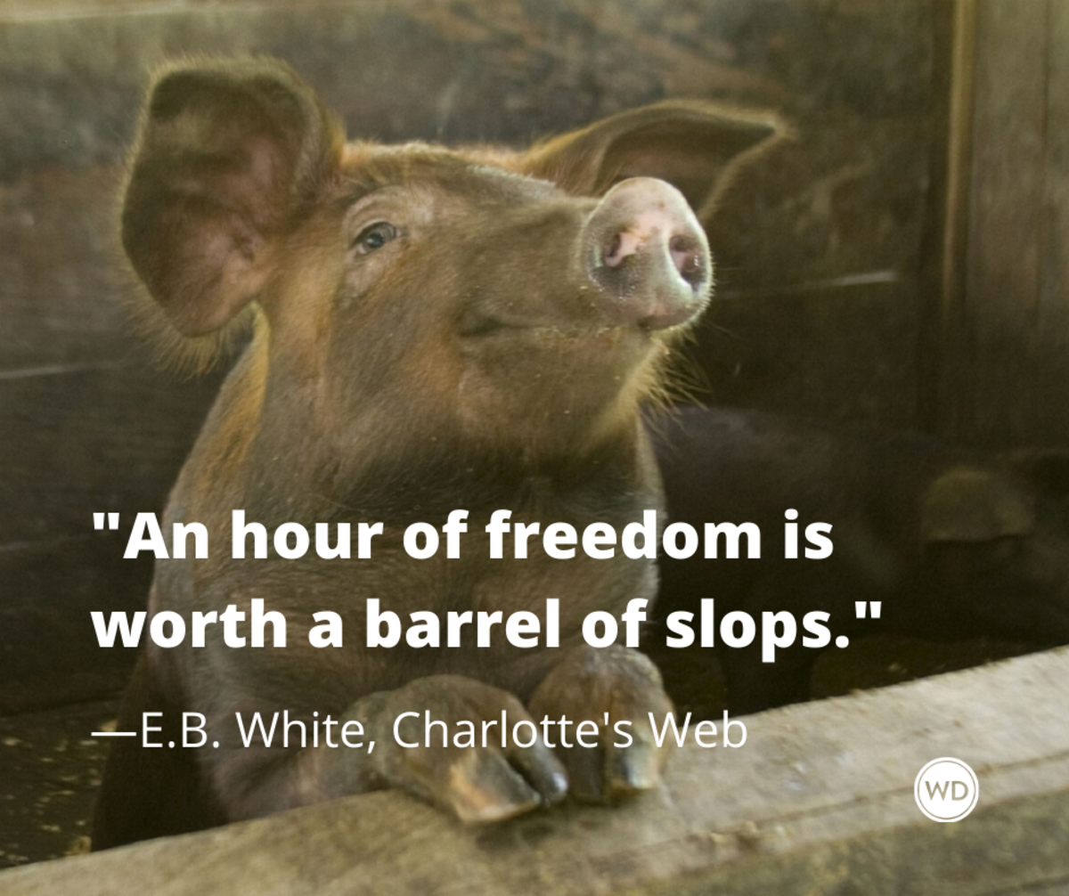 e_b_white_charlottes_web_quotes_an_hour_of_freedom_is_worth_a_barrel_of_slops
