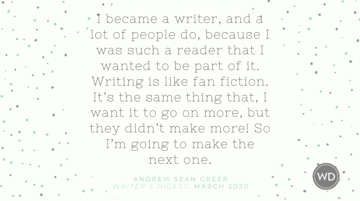 Andrew Sean Greer Quote