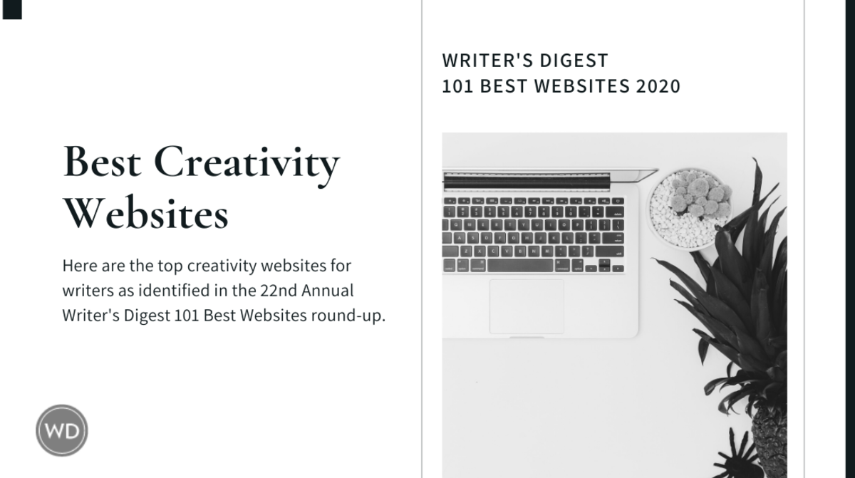 1 Writer's Digest 101 Best Websites 2020-Creativity
