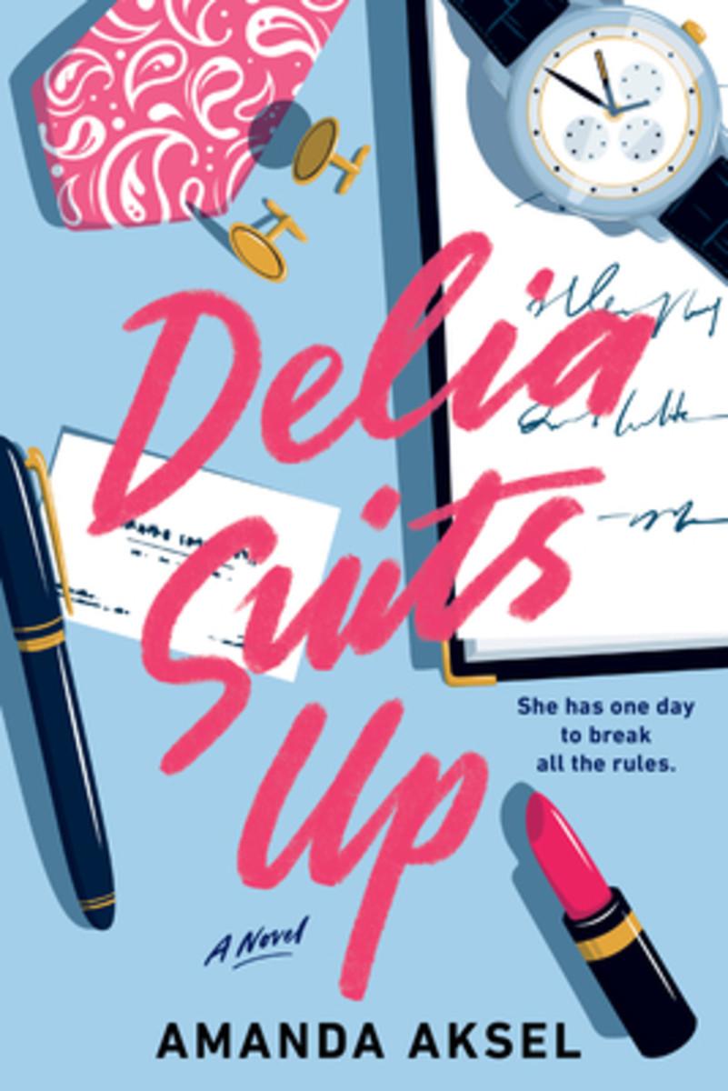 Delia Suits Up, by Amanda Aksel