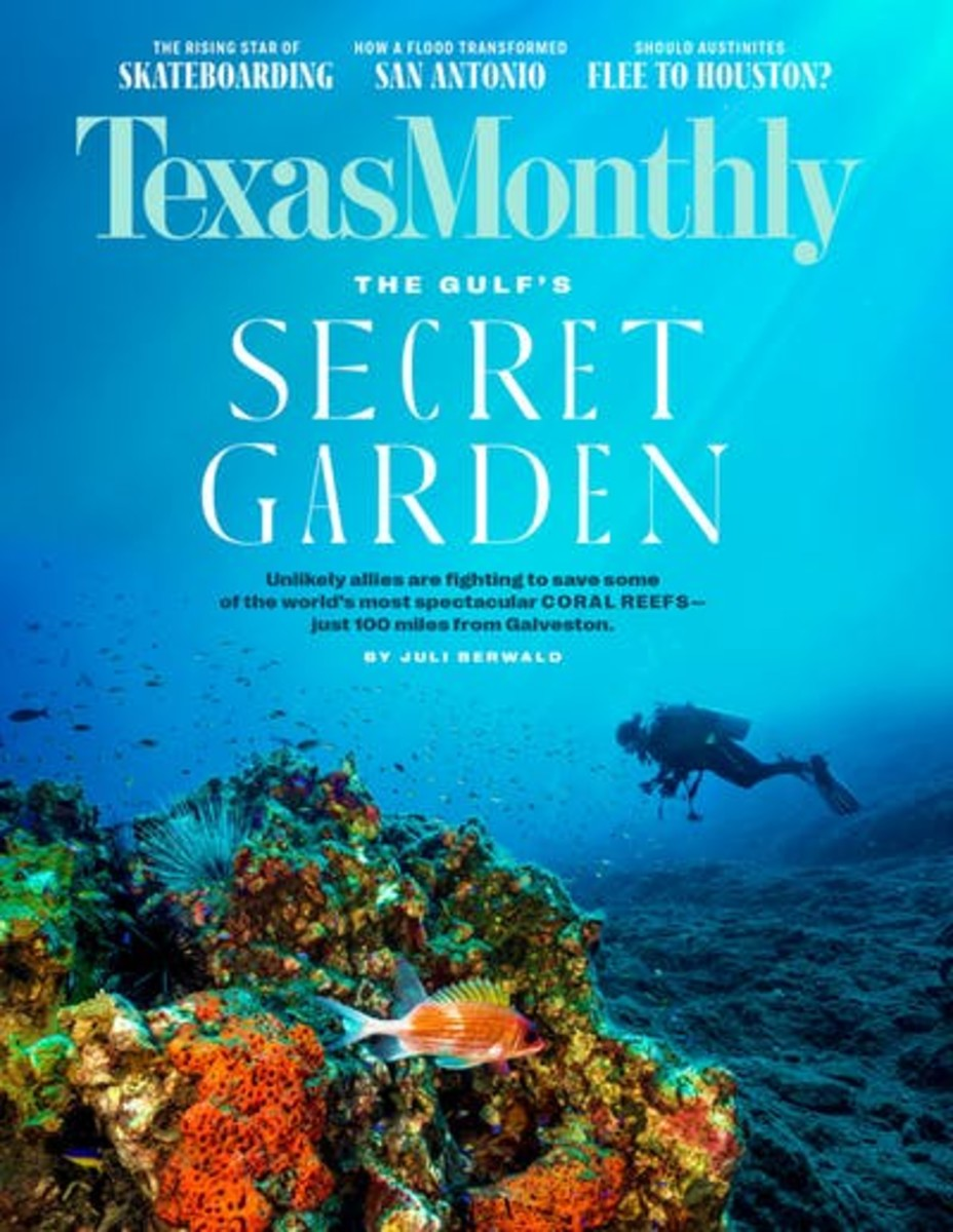 Texas Monthly September 2021 Cover