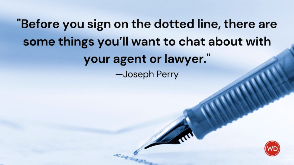 10 Tips on Negotiating a Traditional Publishing Agreement