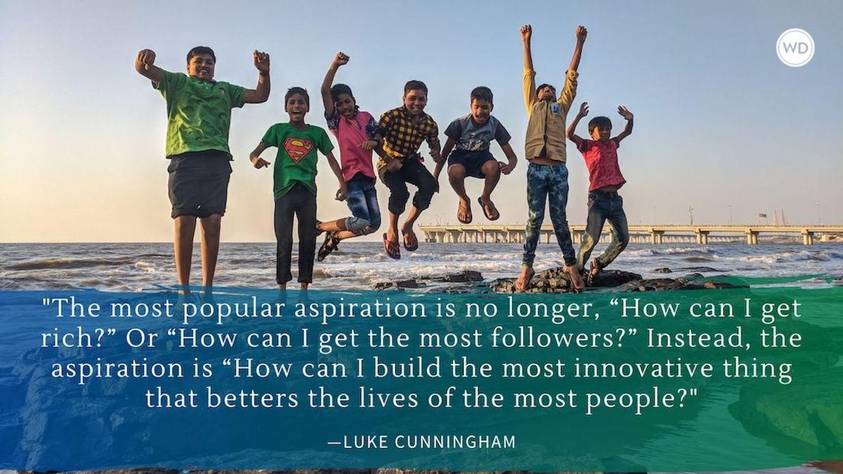 Luke X. Cunningham: A Writer's Hopes for Their Readers