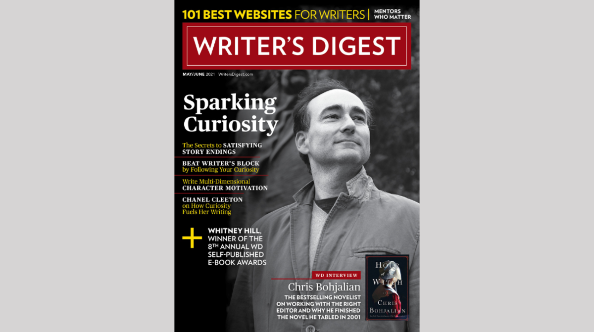 Writer's Digest May/June 2021 Cover Reveal