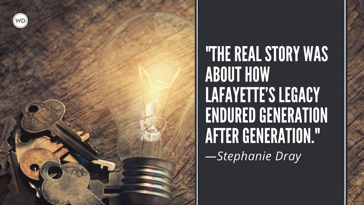 Stephanie Dray: On Writing Women's Legacies