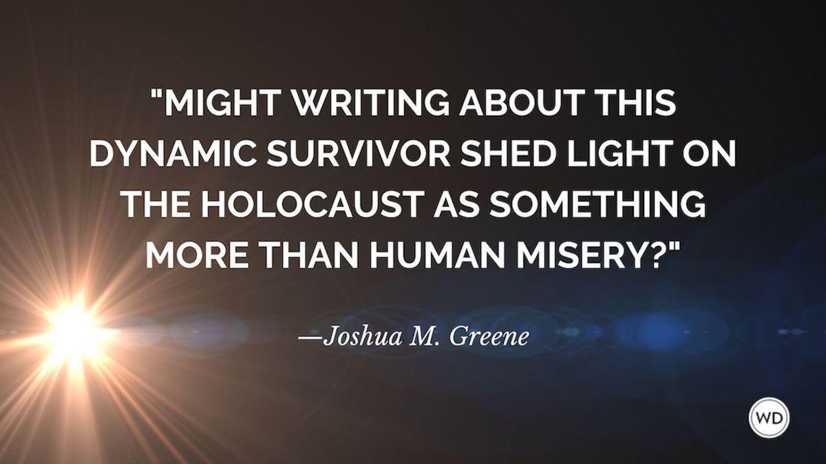 Through Another's Eyes: An Auschwitz Survivor Inspires His Biographer