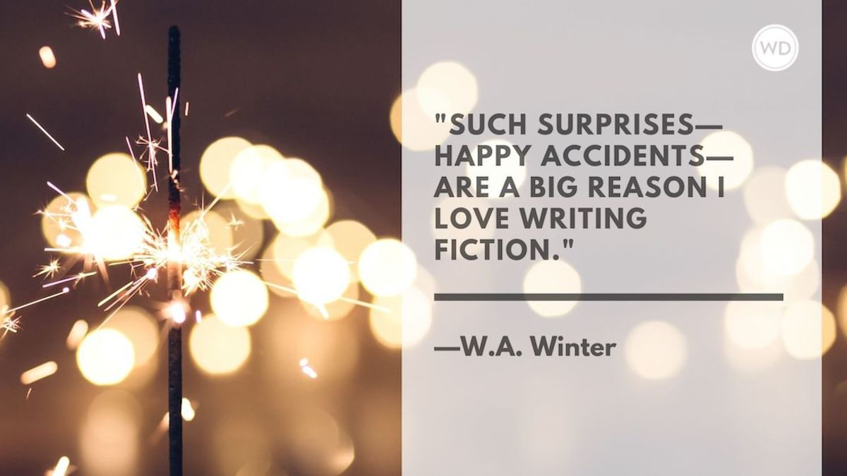 W.A. Winter: On the Joys of Writing Crime Fiction
