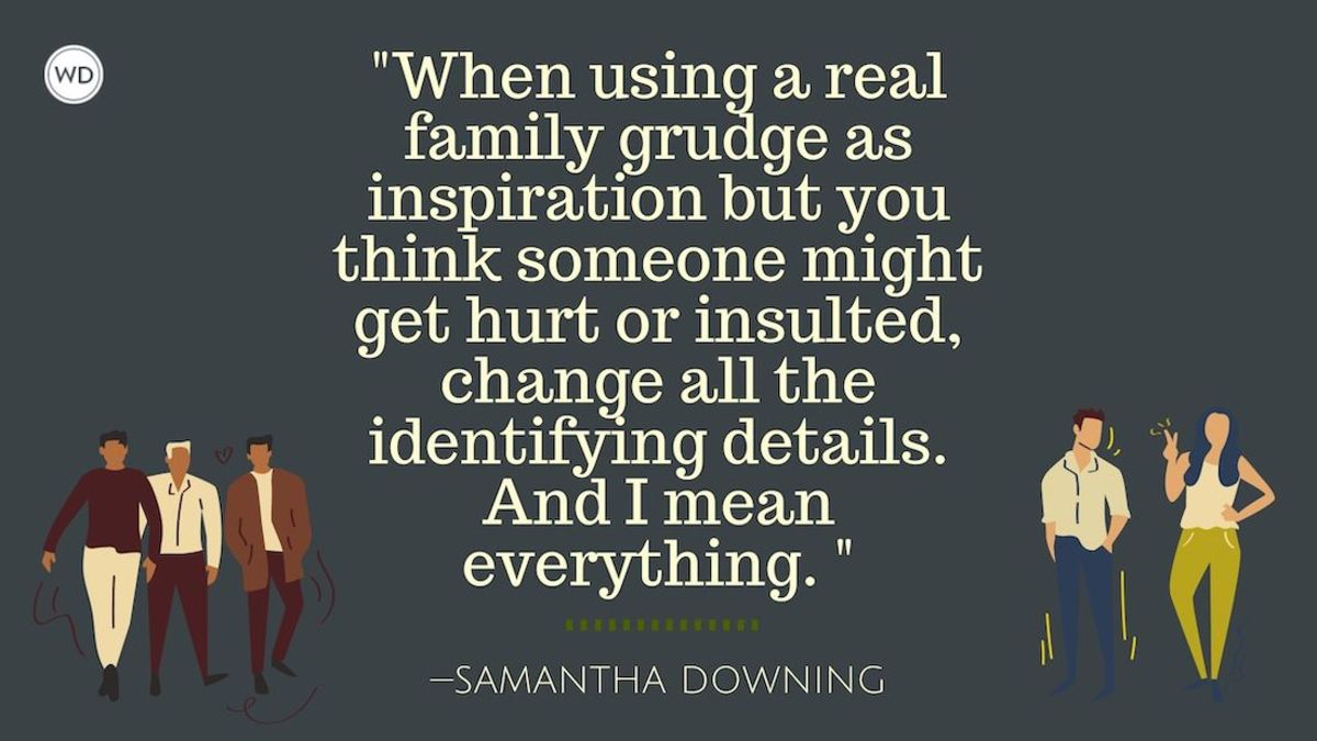 4 Tips for Writing about Family Grudges