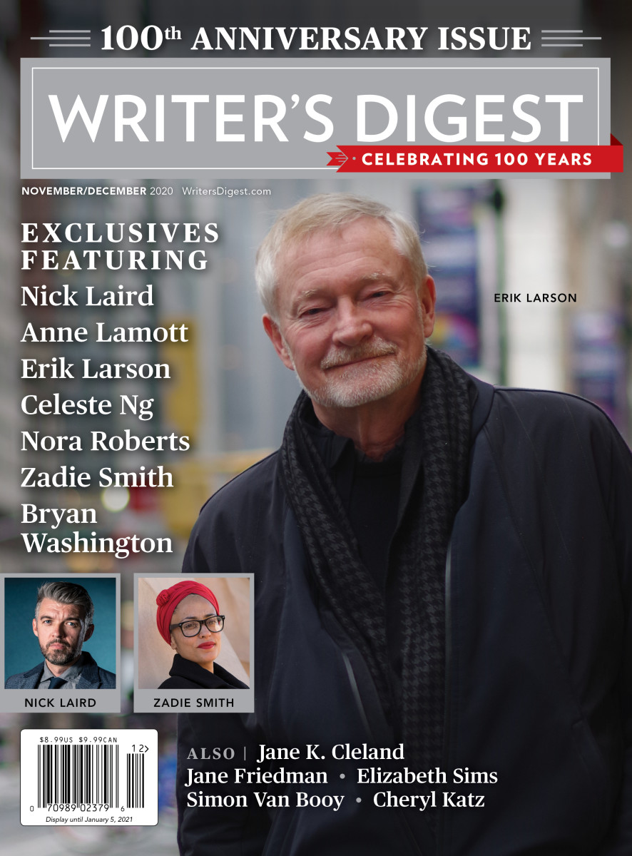 Writer's Digest 100th Anniversary Issue November/December 2020