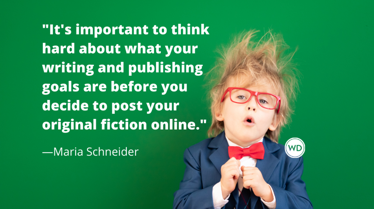 Publishing Fiction on a Blog