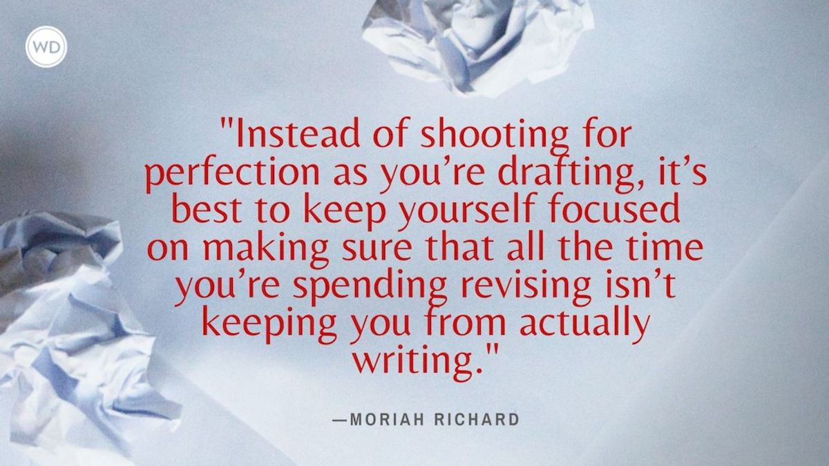 Writing Mistakes Writers Make: Revising While Writing