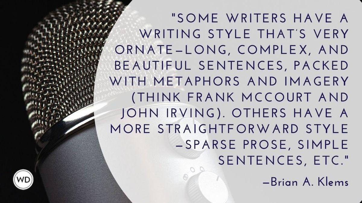 The Difference Between Voice and Style in Writing