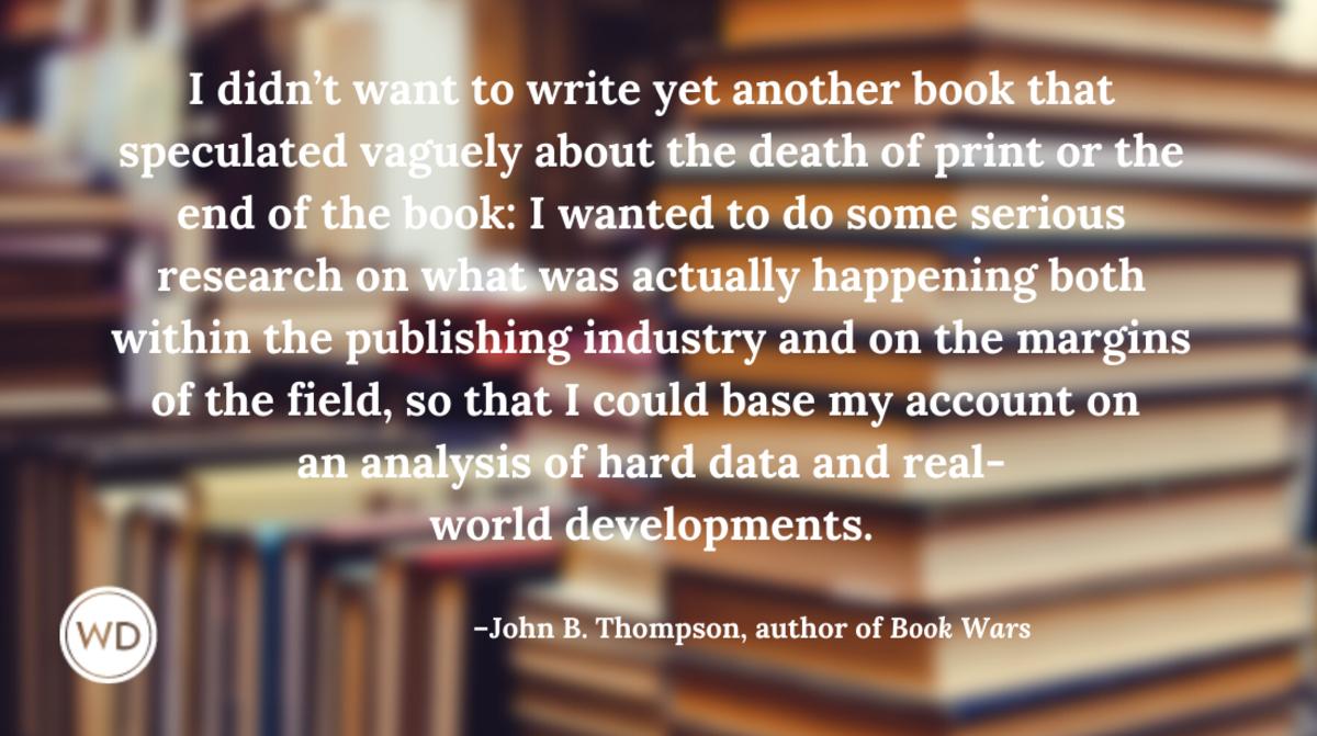 John B. Thompson   Book Wars
